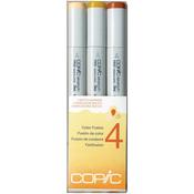 Set 4 - Copic Sketch Color Fusion Markers 3/Pkg