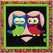 "12""X12"" - Love Owls Quilt Magic Kit"