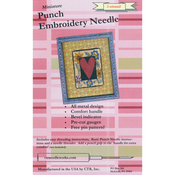 Red 3-Strand - Miniature Punch Embroidery Needle