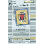 Black 6-Strand - Miniature Punch Embroidery Needle