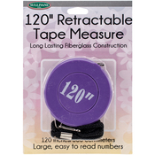Purple - Retractable Tape Measure 120""
