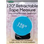 "Blue - Retractable Tape Measure 120"""