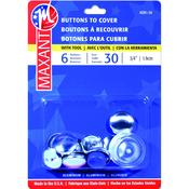 """Size 30 3/4"""" 6/Pkg - Cover Button Kit"""