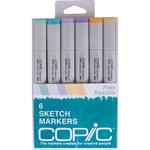 Pale Pastels - Copic Sketch Markers 6/Pkg