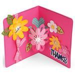 Flowers Drop-Ins Card - Sizzix Framelits Dies By Stephanie Barnard 21/Pkg
