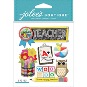 Teacher - Jolee's Boutique Dimensional Stickers