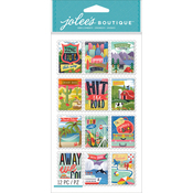 Travel Stamps - Jolee's Boutique Dimensional Stickers