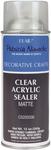 Matte - Clear Acrylic Sealer Aerosol Spray 12oz
