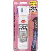 White - Spray Puff Fabric Paint 2.5oz