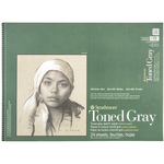 """80lb Toned Gray 24 Sheets - Strathmore Sketch Paper Pad 18""""X24"""""""