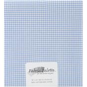 "Blue Gingham - Fabric Palette Precut 18""X21"" 1/Pkg"