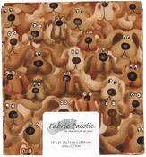 "Novelty Dogs - Fabric Palette Precut 18""X21"" 1/Pkg"