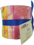"Long Road Batik - Long Road Batik Jellies 2.5""X42"" 20/Pkg"
