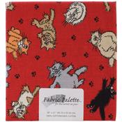"Novelty Cats - Fabric Palette Precut 18""X21"" 1/Pkg"