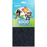 Black - Perler Beads 6,000/Pkg