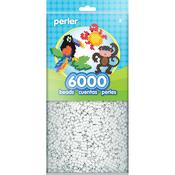 White - Perler Beads 6,000/Pkg