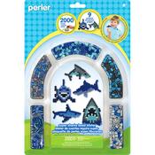 Sharks - Perler Fused Bead Kit