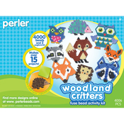 Woodland Critters - Perler Fused Bead Kit