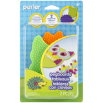 Assorted Shapes & Colors - Perler Pegboards 2/Pkg
