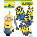 60 Designs - Perler Minions Fused Bead Pattern Pad