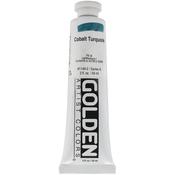 Cobalt Turquoise - Golden Heavy Body Acrylic Paint 2oz