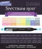 Pastels - Spectrum Noir Alcohol Markers 24/Pkg