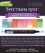 Lights - Spectrum Noir Alcohol Markers 24/Pkg