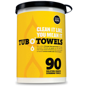 "Tub O' Towels 10""X12"" 90/Pkg"