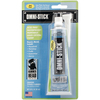 2.8oz - Omni-Stick Adhesive HAMMERHEAD-Omni-Stick Adhesive. Perfect for ceramics, concrete, cork, felt, fiberglass, glass, leather and more! It dries fast and clear and won't stick your fingers together. Washable and dishwasher safe. This package contains one 2.8 fluid ounce tube and one snip tip. Made in USA.