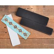 Wide Leather Bracelet Set - Sizzix Movers & Shapers Magnetic Dies By Jill MacKay (R)