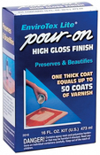 EnviroTex Lite Pour-On High Gloss Finish 16oz