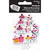 Fairy Cakes On Plate - Express Yourself MIP 3D Stickers