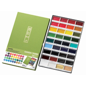 Assorted Colors - Kuretake Gansai Tambi 36 Color Set