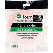 Couture Creations Foam Mounting Tape 18mmx4m