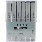 Cool Gray - Copic Original Markers 12pc Set
