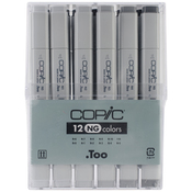 Neutral Gray - Copic Original Markers 12pc Set