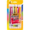 Assorted Barrels - BIC Xtra Sparkle Mechanical Pencils 24/Pkg