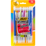 Assorted Barrels - BIC Xtra Sparkle Mechanical Pencils 15/Pkg