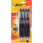 Black - Velocity Bold Pens 4/Pkg