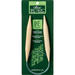 "Size 19 - Takumi Bamboo Circular Knitting Needles 24"""