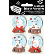 Snow Globes - Express Yourself MIP 3D Stickers