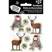 Reindeer & Owls - Express Yourself MIP 3D Stickers