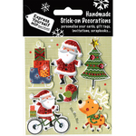 Santa, Tree, Gifts & Reindeer - Express Yourself MIP 3D Stickers