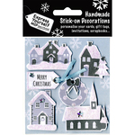 Snow Village Scenes - Express Yourself MIP 3D Stickers