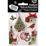 Tree, Wine, Stocking & Ornaments - Express Yourself MIP 3D Stickers