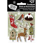 Robin, Pudding, Birds & Birdhouses - Express Yourself MIP 3D Stickers