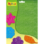Floral - Makin's Clay Texture Sheet Sets 4/Pkg