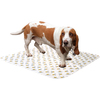 White - Reusable Absorbent Potty Pad-Medium 20 X27  PoochPad-Reusable Absorbent Potty Pad Medium: White. This pad is perfect for potty training puppies and home alone dogs. Helps prevent damage to floors, carpet and furniture. Leak proof and odor inhibiting. This package contains one 20x27 inch potty pad. Machine washable. Made in USA.