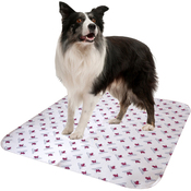 "White - Reusable Absorbent Potty Pad For Mature Dogs-Large 30""X32"""