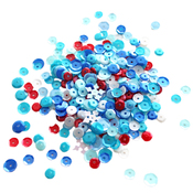 Red, White & Blue - Neat & Tangled Sequin Mix